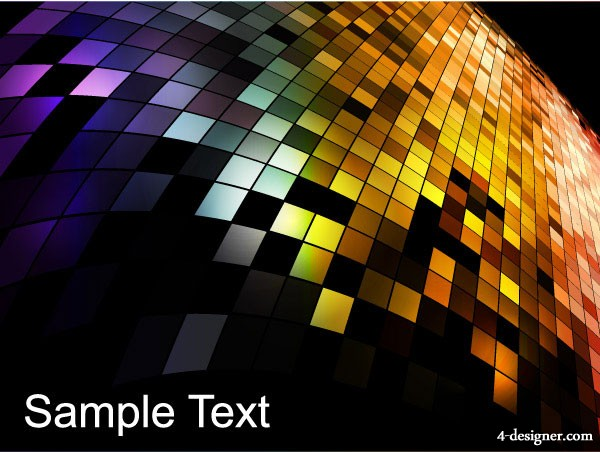 Mosaic background vector material 5