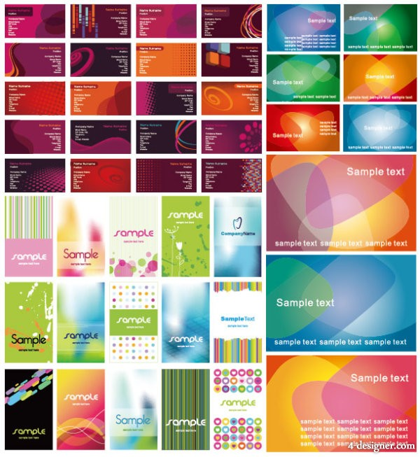 Non original works of a variety of beautiful background vector material