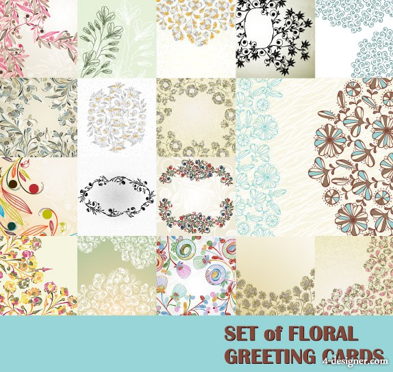 Pattern background 01 vector material