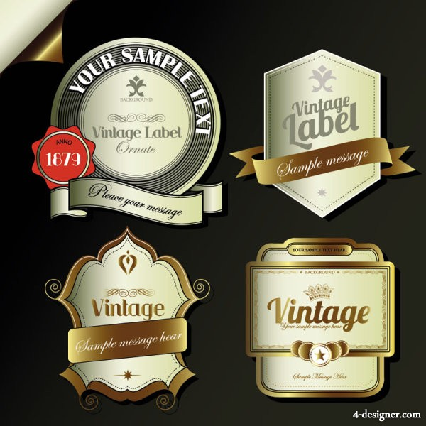 Refined label vector material 03 Vector