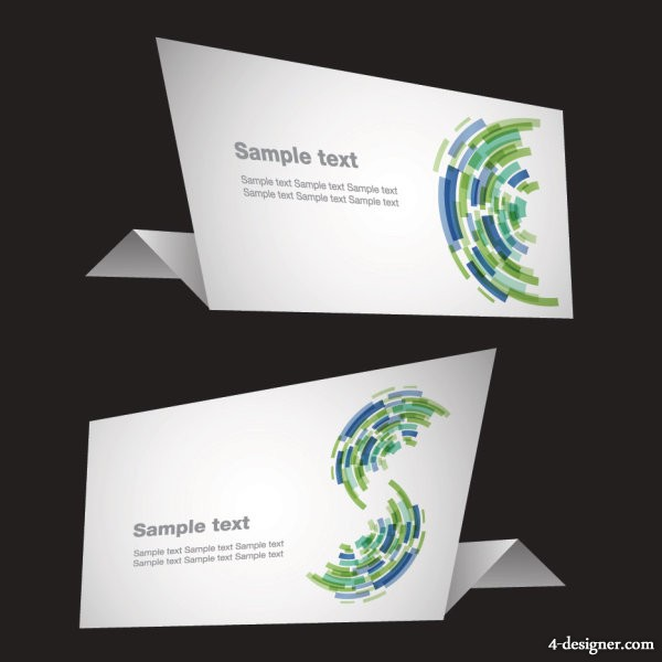 Sense of technology origami Vector