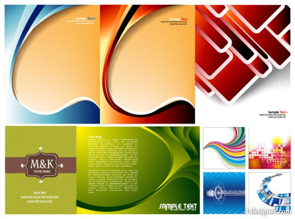 Several practical background vector material