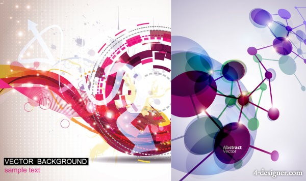 Symphony background vector material