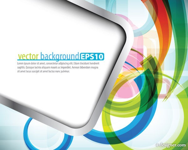 Symphony dynamic lines background vector material 5