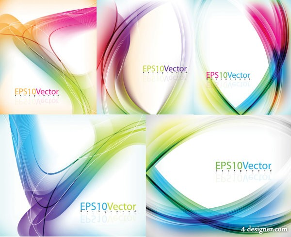 Symphony lines background vector material