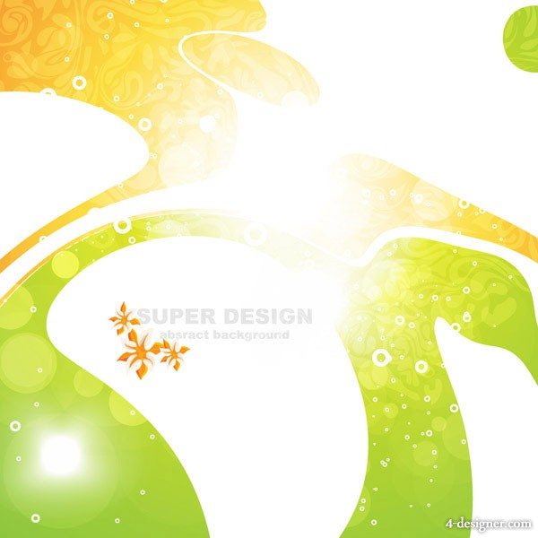 Symphony shape background vector material 1