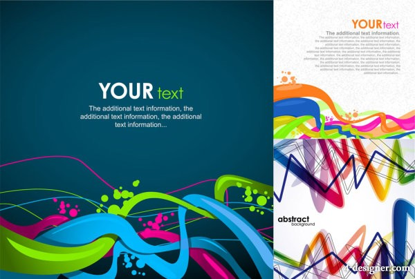 The cluttered dynamic lines vector material