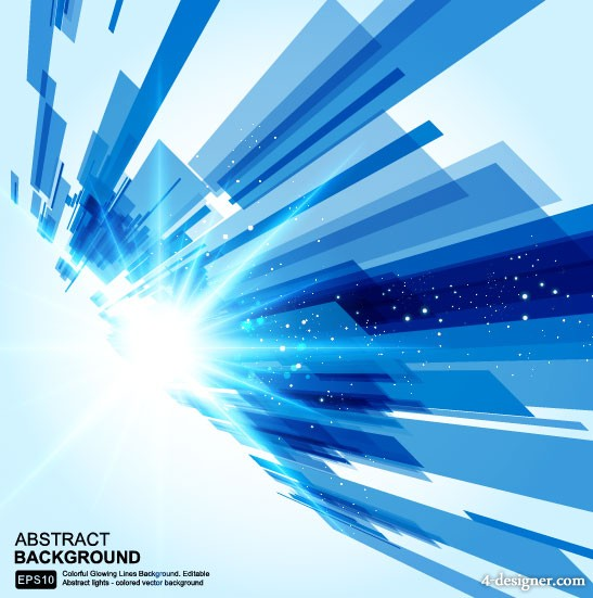 The dazzling dynamic background 05 Vector