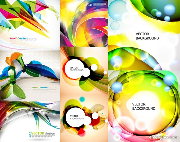 The dynamic the Symphony graphic background Vector