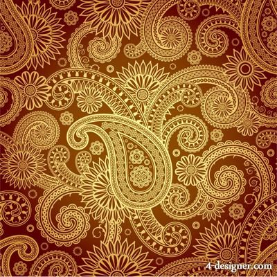 The exquisite classical pattern vector material 2