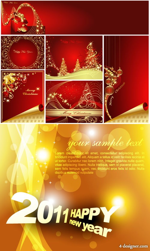 The gorgeous festival background Vector