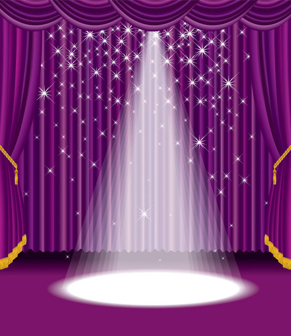 The stage vector material 4