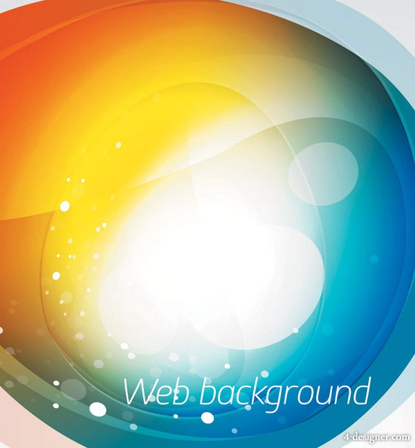 The stylish Symphony of web background vector material 4