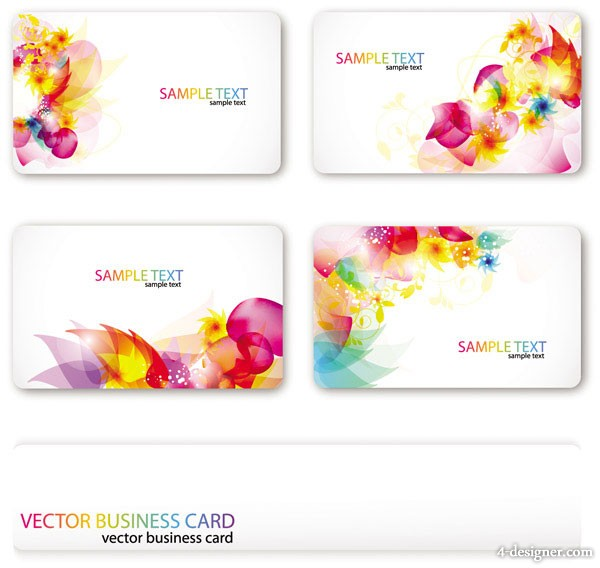 Vector Symphony card background vector material 1