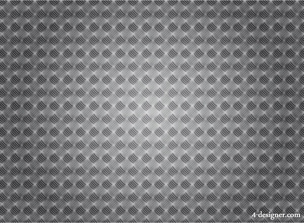 Vector metal background