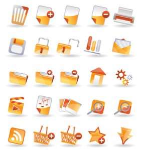 25 practical icon vector material