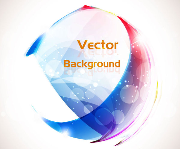 A beautifully colorful halo background 05 vector material