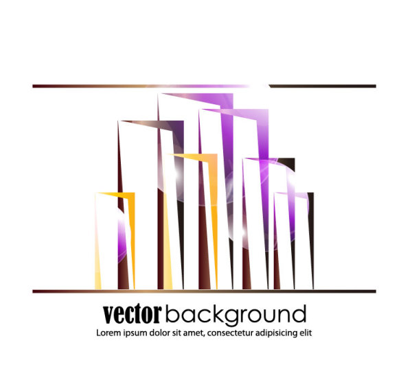 Abstract commercial building 03 Vector