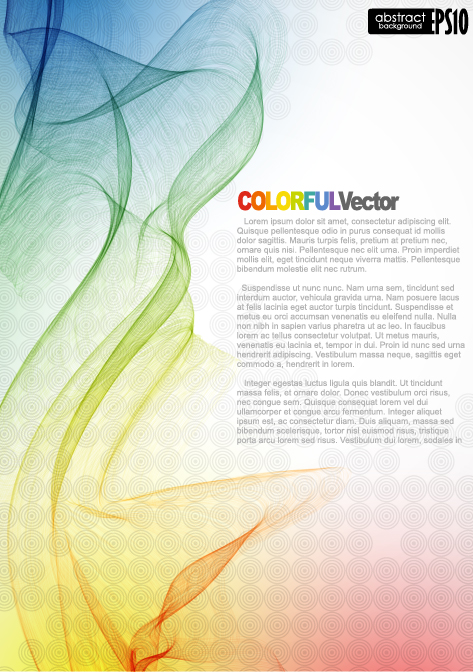 Beautifully dynamic background Vector 04 Vector