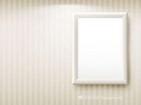 Blank picture frame vector material 3
