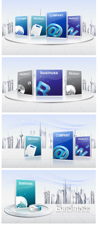 Business breath Vector 2