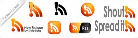 Crystal rss Subscribe vector icon material