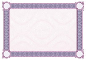 Exquisite pattern border background 01   vector material