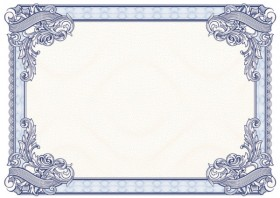 Exquisite pattern border background 02   vector material