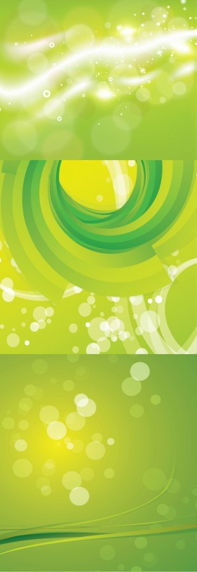Green Dream lovely apple green background Vector