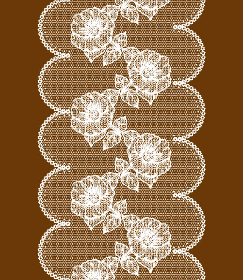 Lace pattern background 03 vector material