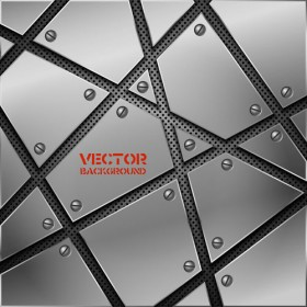 Metal texture vector background 02