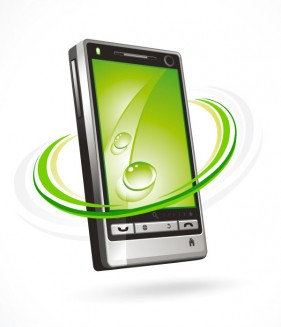 The phone Vector  9