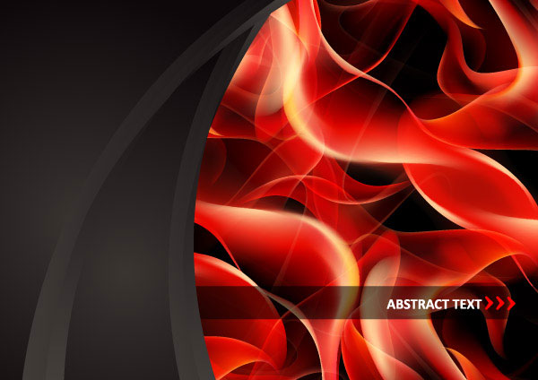 The red fumes flame vector material 9