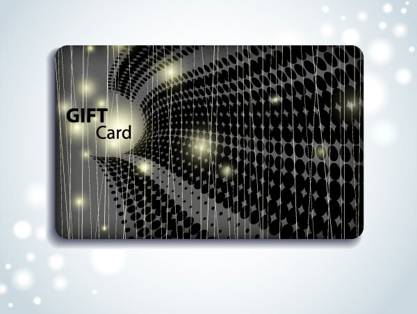 VIP card background vector material 4