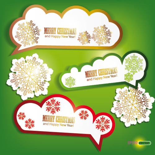 Vector material exquisite label 05 vector material