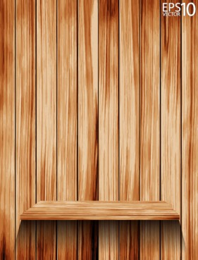 Wooden background 05 vector material