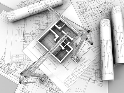 3D buildings and plan  8
