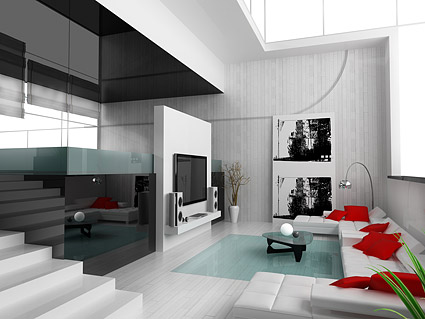 Beautiful home interior picture material  8