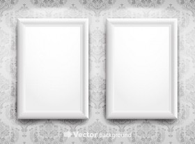 Blank picture frame vector material 4