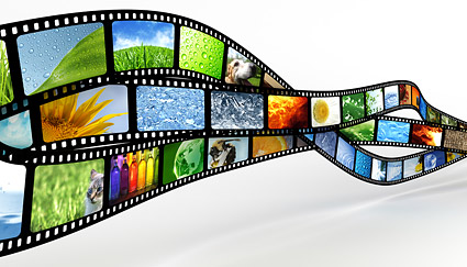 Dynamic film picture material