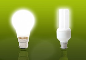 Energy saving lamps picture material  3