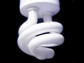 Energy saving light bulb picture material  2