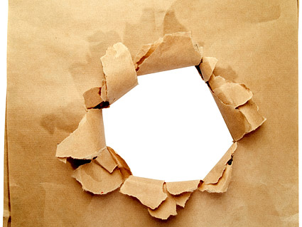 Holes in paper Images
