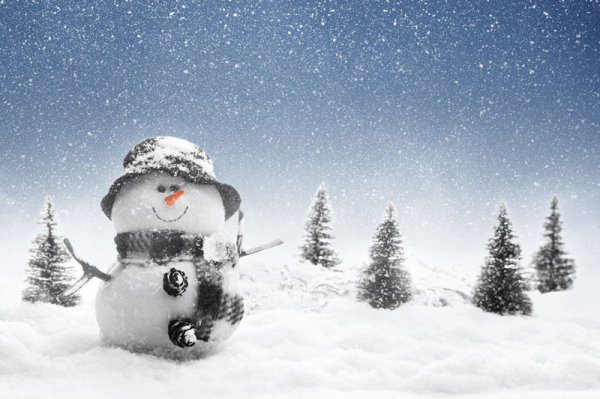Beautiful snow scenery 02   HD Images