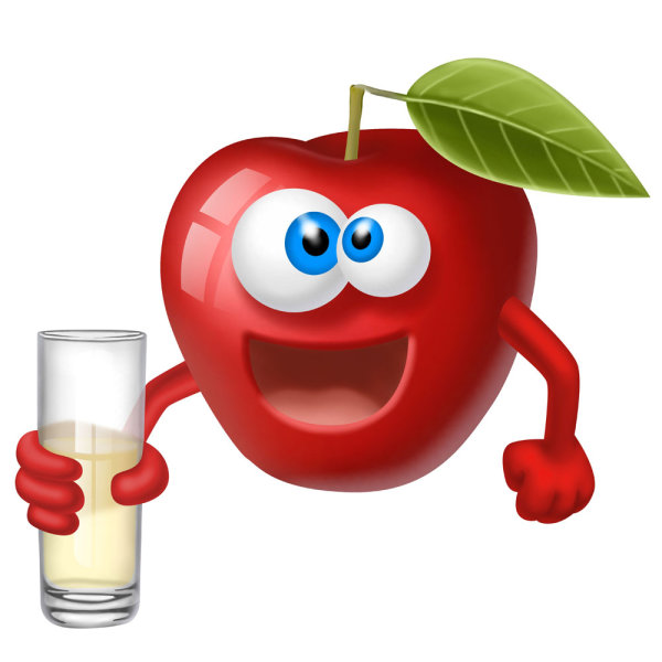 Funny cartoon fruits image 02   HD Images
