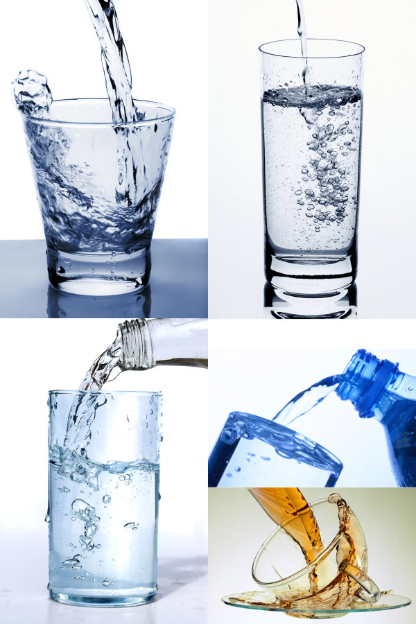 Glass with pure water   HD Pictures