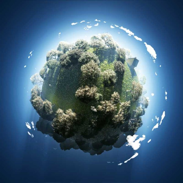Green World polar coordinates 08   HQ Pictures