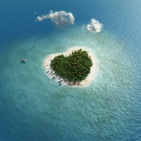 Heart shaped island 04   high definition picture