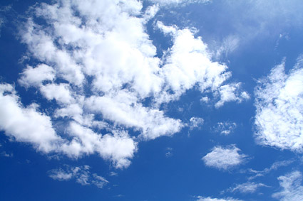 Images  2 blue sky with white clouds