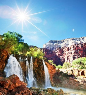 Natural scenery HD picture 1